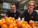 Solgt 3,6 millioner appelsiner på tre uker