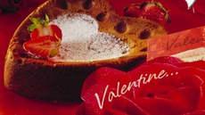 Valentinsjokoladekake