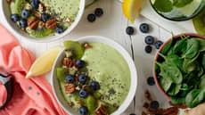 Sunn grønn smoothiebowl