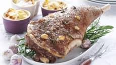 Lammestek med fløtegratinerte poteter