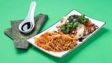 Fiskepudding med asiatiske smaker