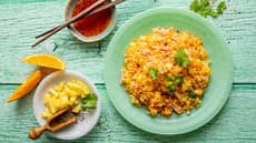 Stekt ris med tropiske smaker