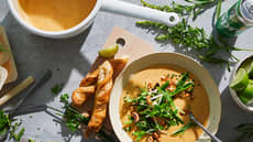 Thaisuppe med snadder!