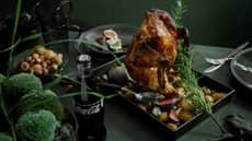 Helstekt kylling med juleøl