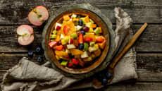 Fruktsalat med lake
