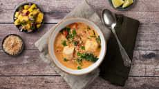 Asiainspirert torsk med superenkel mangosalat