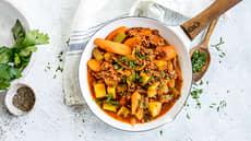 Rask middagsgryte med kjøttdeig