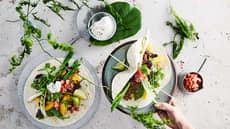 Tortilla med kjøttdeig