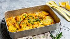 Potetform med sitron og rosmarin