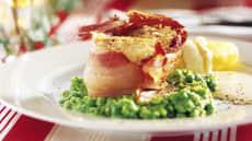 Lutefisk med bacon