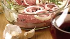 Rødvinsmarinade til hvitt kjøtt