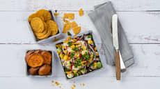 Ceviche med torsk, mango og avokado