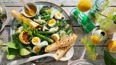 Eggesalat med asparges