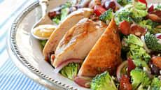 Kyllingfilet med druesalat