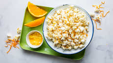 Salt appelsinpopcorn