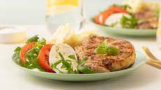 Saftig italiensk ytrefilet medmozzarellasalat
