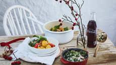 Kalkungryte med grønnsaker og safran