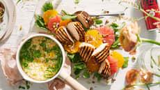 Marinert kyllingfilet med risotto
