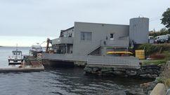 Fasade Nærbutikken Tansøy