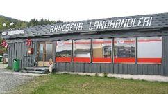 Fasade Nærbutikken Arnesen