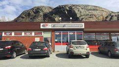 Fasade Nærbutikken Sandviksberget