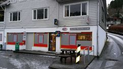 Fasade Nærbutikken Sævareid