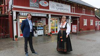 Nærbutikken Hegna Landhandel er historisk