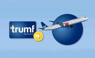 Trumf-bonus kan bli SAS EuroBonus-poeng