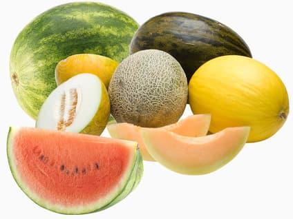 Alle hele meloner