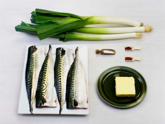 Stekt makrell er god sommermat, som også barn pleier å like!