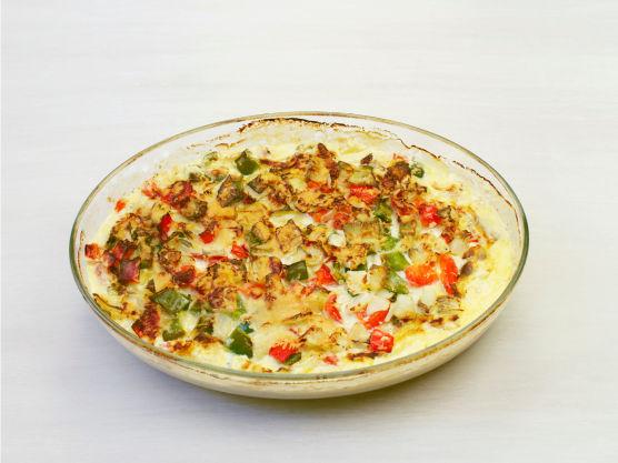 Stek kyllingen i ovnen i ca. 20 min. på 200 °C og server.
