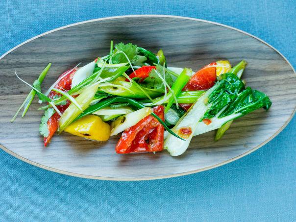 Sursøt wok med mango