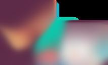 Illustrasjon av mann som sitter ved en PC med bilde av en hengelås på
