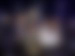 Jubelscener. F.v. MENY-sjef Vegard Kjuus, butikksjef Halvard Knotten og kjøpmann Martin Gran fra MENY Revetal og driftsdirektør Geir Hov i MENY