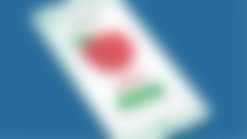 Illustrasjon av telefon med bilde av en SPAR-kupong