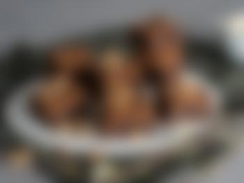 Klassiske brownies med valnøtter