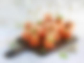 Melonspyd med spekeskinke og manchego