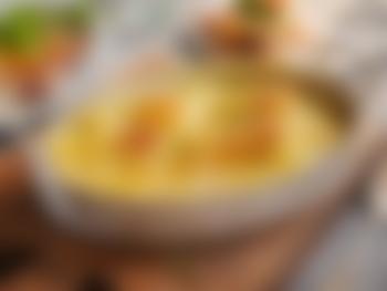 Hjemmelagde fløtegratinerte poteter