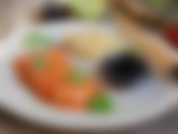 Sashimi av laks