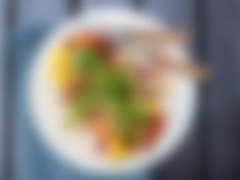 Vegetartaco med sopp og bønner