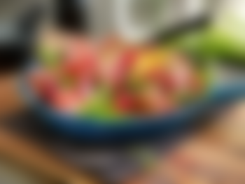 Pastasalat med roastbiff og sprø grønnsaker