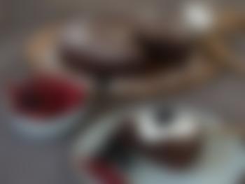 Saftig browniekake