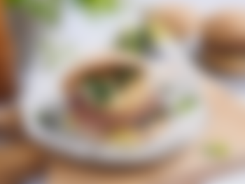 Hamburger med chipotlemajones