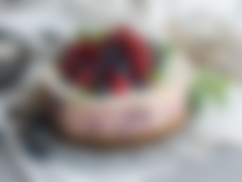 Amerikansk ostekake med bær