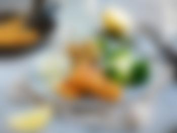 Panerte torskepinner med poteter