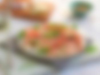 Carpaccio av spekeskinke