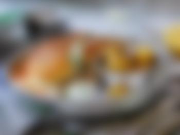 Fiskekaker med råkostsalat