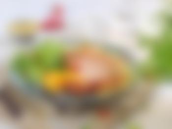 Svinekoteletter med couscoussalat