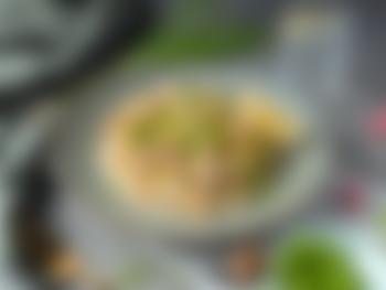 Kremet pasta med krabbe