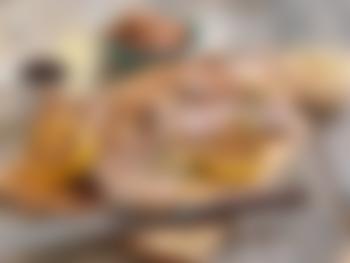 Grillet flintstek med ratatoille og potetsalat